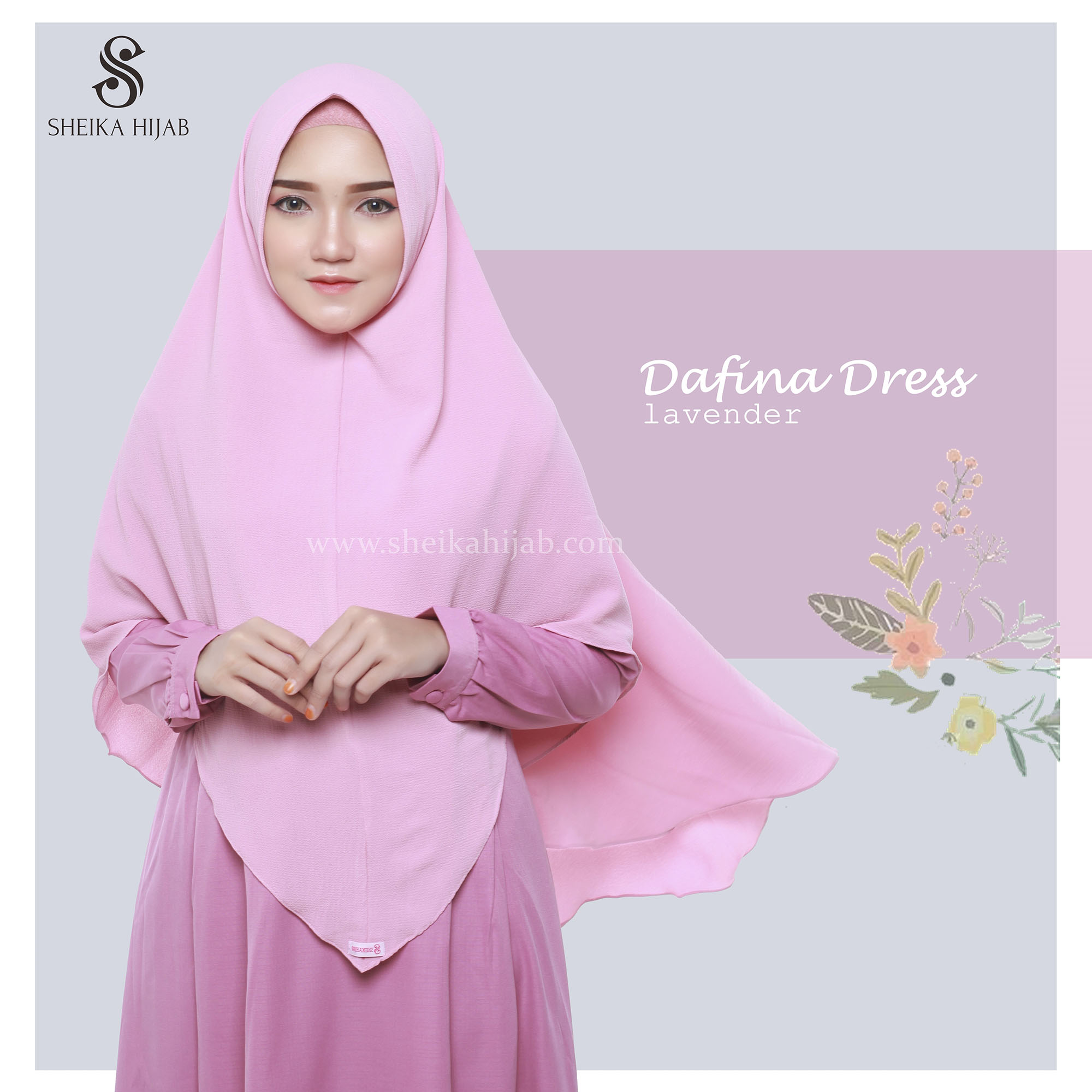 Dafina Dress (Only) - Lavender