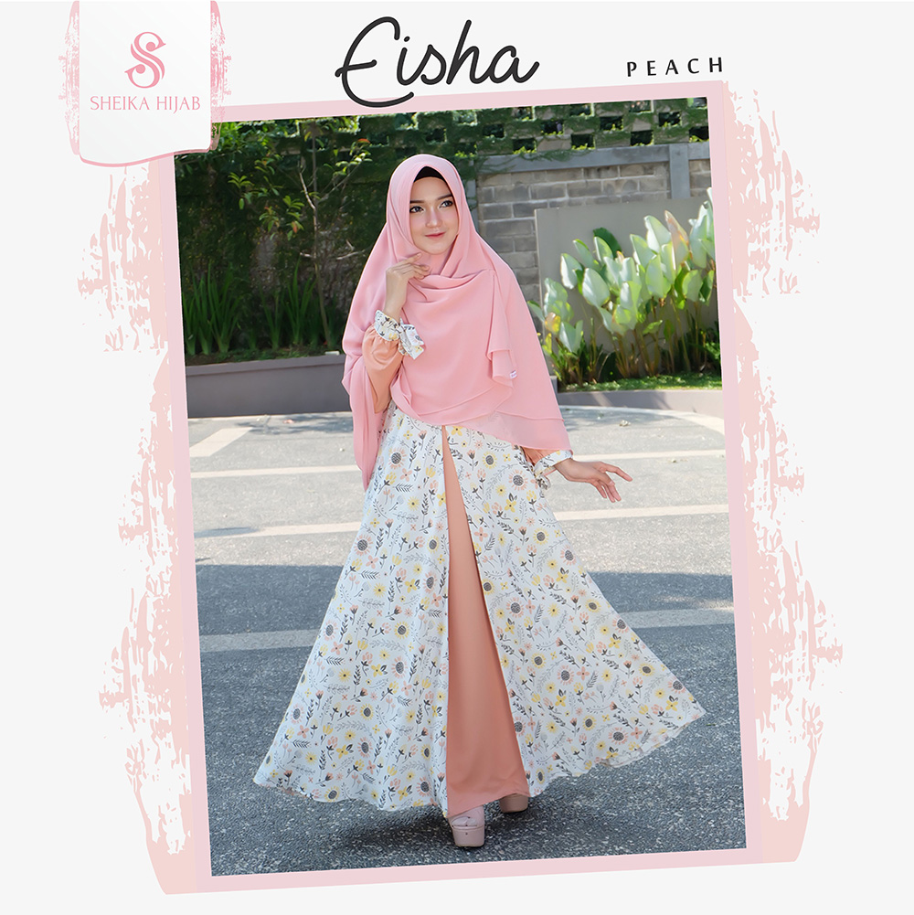 Dress Eisha - Peach (Dress Only)
