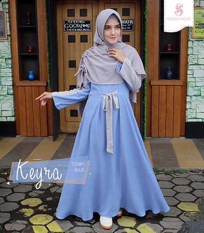Dress Keyra - Denim Blue (Dress Only)
