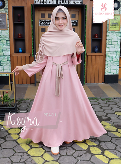 Dress Keyra - Set Peach