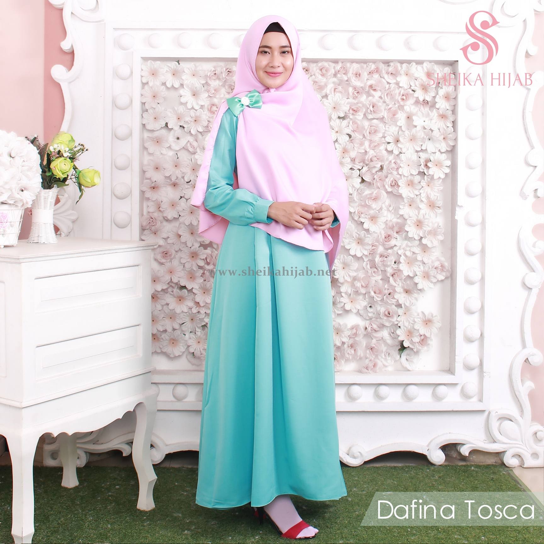 Dafina Dress (Only) - Tosca