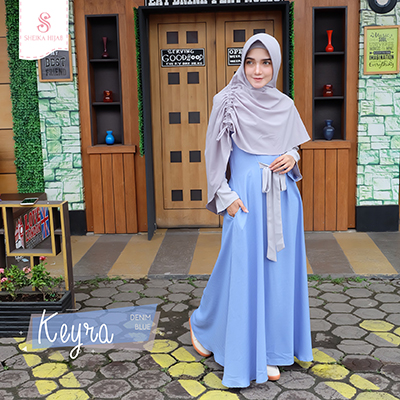 Dress Keyra - Set Denim Blue