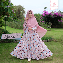 Dress Alana - Dusty Pink (Dress Only)