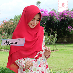 Dress Alana - Set Peach