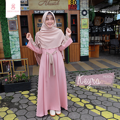 Dress Keyra - Peach (Dress Only)