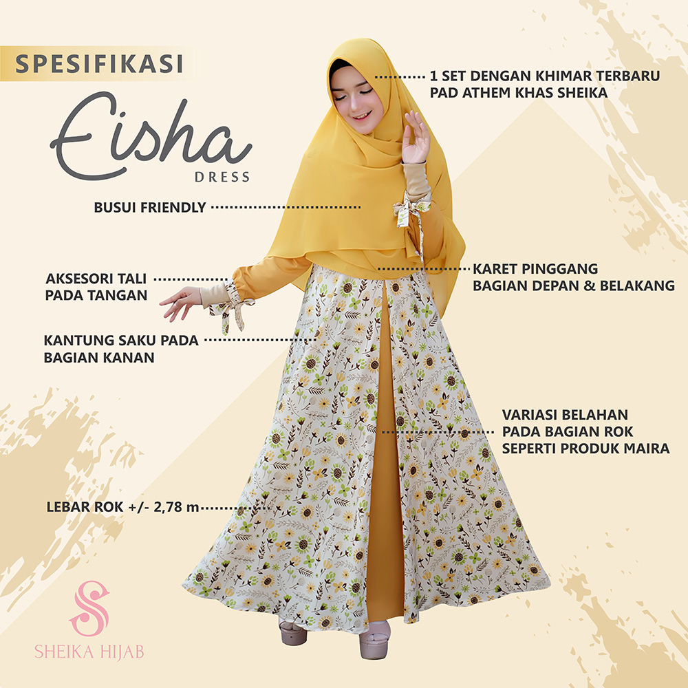Dress Eisha - Mint (Dress Only)