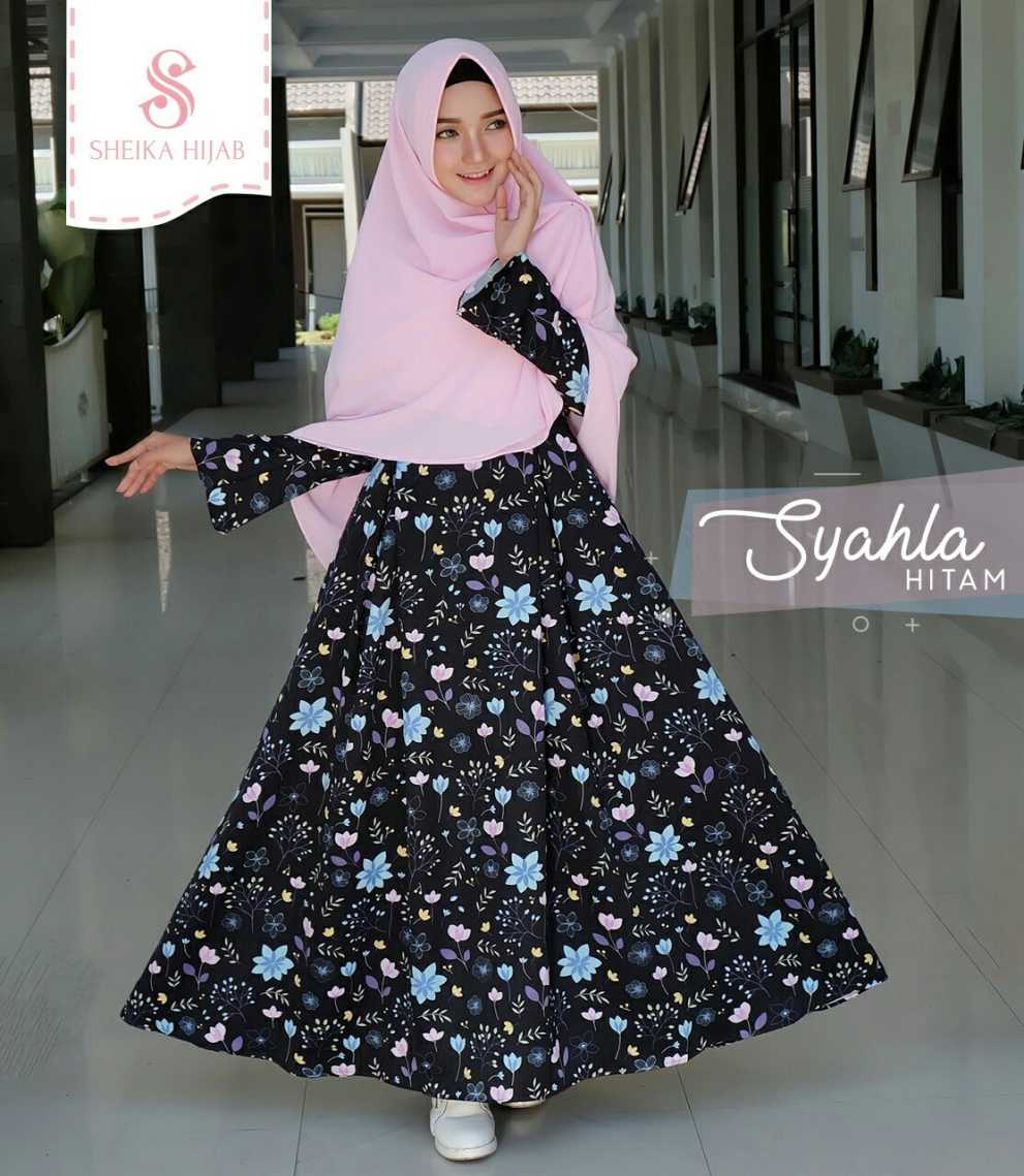 Dress Syahla - Hitam (Dress Only)